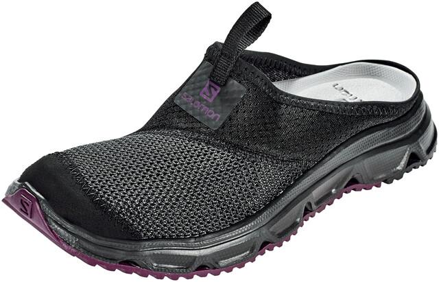Salomon RX Slide 4.0 Shoes Women blackblackpotent purple